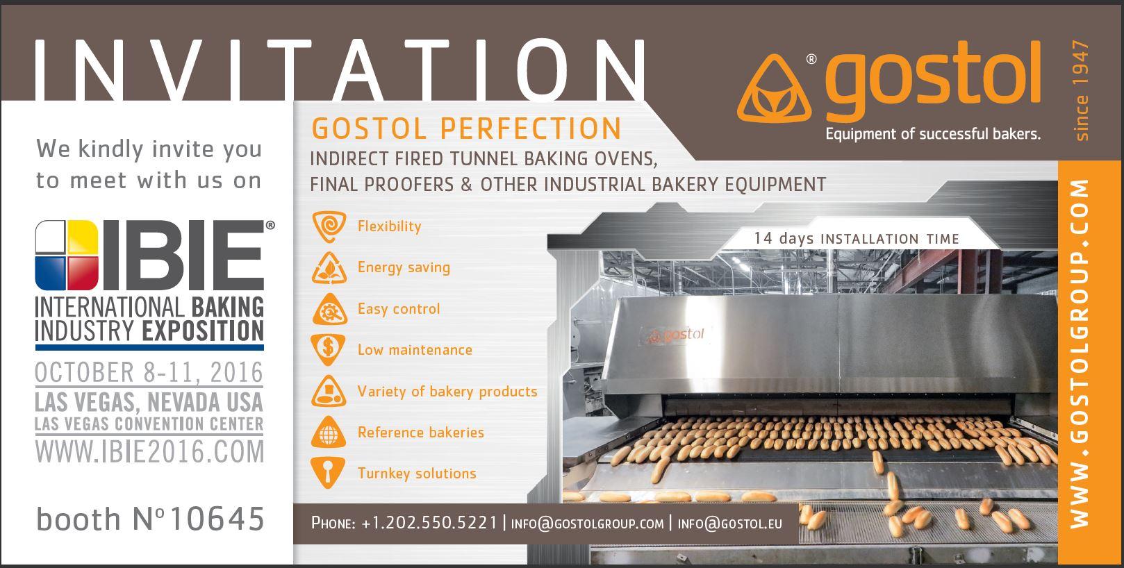 Gostol | Gostol invites you on IBIE, Las Vegas exhibition