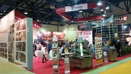 Gostol & Tecnopool at exhibition Modern Bakery 2017 from 13th - 16th March, 2017