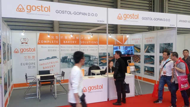 Gostol at exhibition Bakery China 2017 from 10th_13th May, 2017