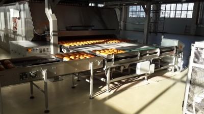 Gostol new reference industrial bakery line