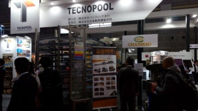 Gostol & Tecnopool at Mobac Show in Japan, 22.-25.february, 2017