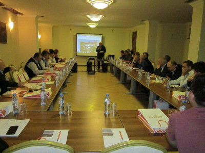 Gostol – Gopan d.o.o. on a conference of bakery union in Tbilisi, Georgia 17th May 2017