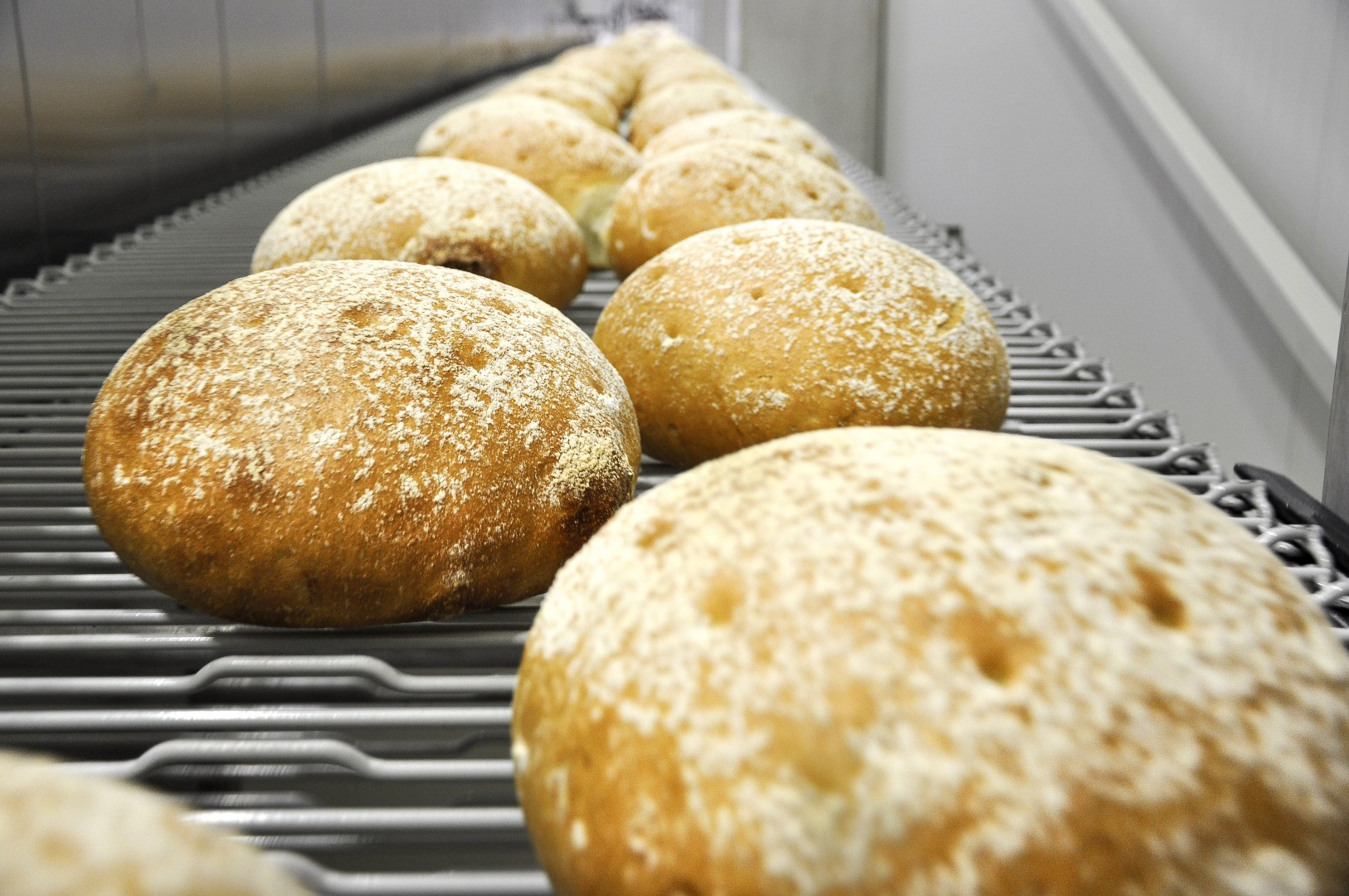 Complete solutions for industrial bakeries